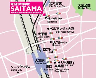 Saitama St. Map